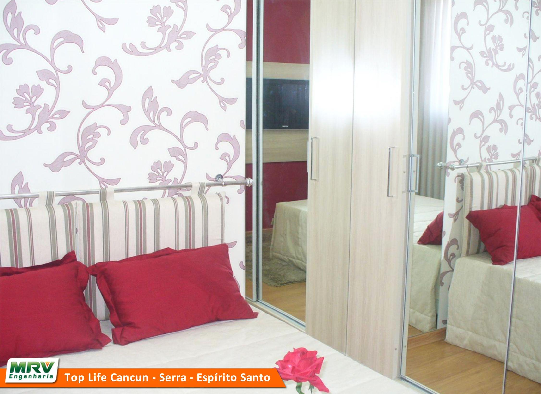 Apartamento Decorado 2 Quartos Do Top Life Cancun No Bairro Novo  ~ Aparador Para Quarto De Casal E Quarto Para Duas Criancas