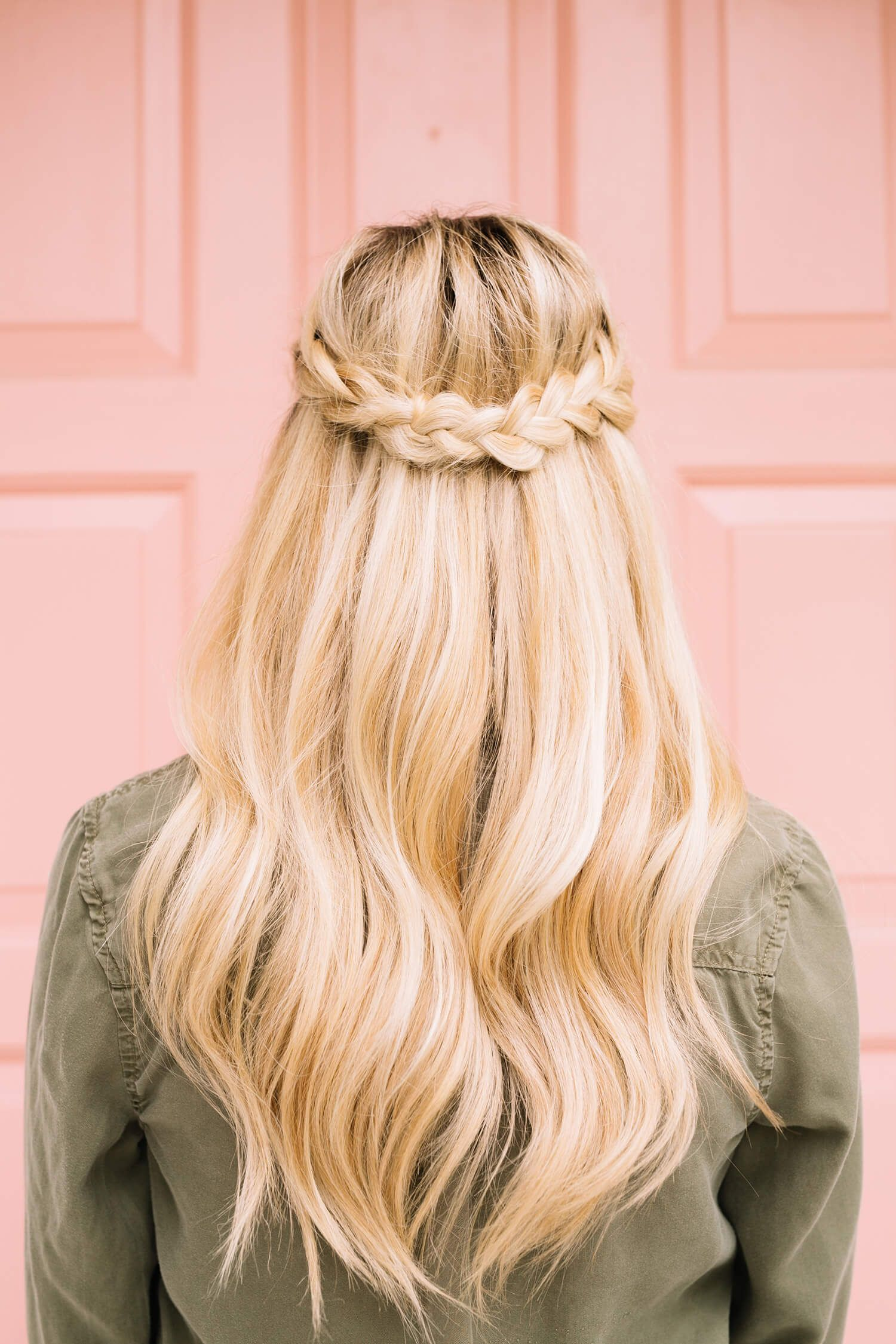 French Braid Half Crown A Beautiful Mess Braided Hairstyles Crown Hairstyles French Braid