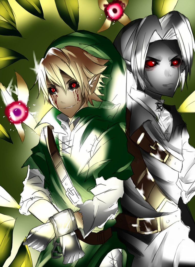 Ben Drowned And Dark Link By Mikerumorino On Deviantart