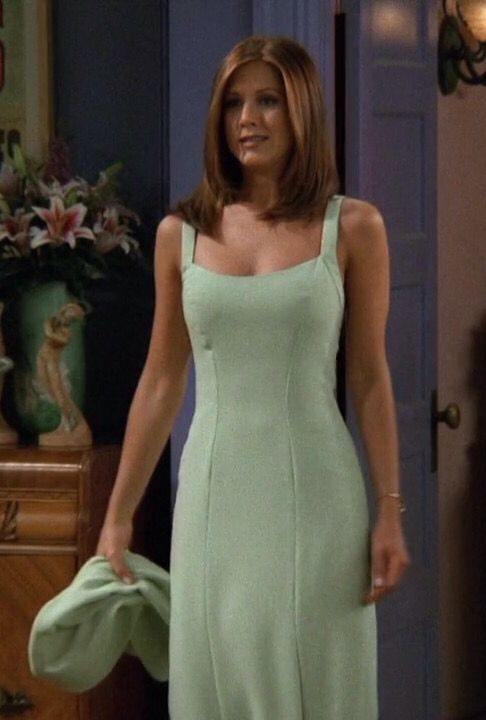 The One No Is Friends Where Ready Green Rachel's Dress 7bgfy6