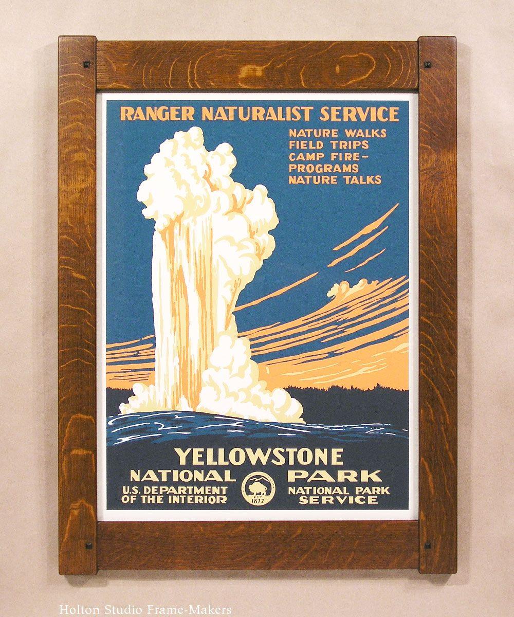 Wpa National Parks Posters Framed Google Search National Park Posters Wpa National Park Posters National Parks
