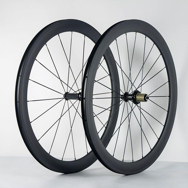 700c Road Bike Carbon Wheelset 26mm Width Carbon Wheels 50mm Height 3k Matte Ebay Carbon Road Bike Road Bike Bike Wheel