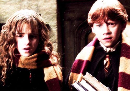 Hermione Granger and Ron Weasley