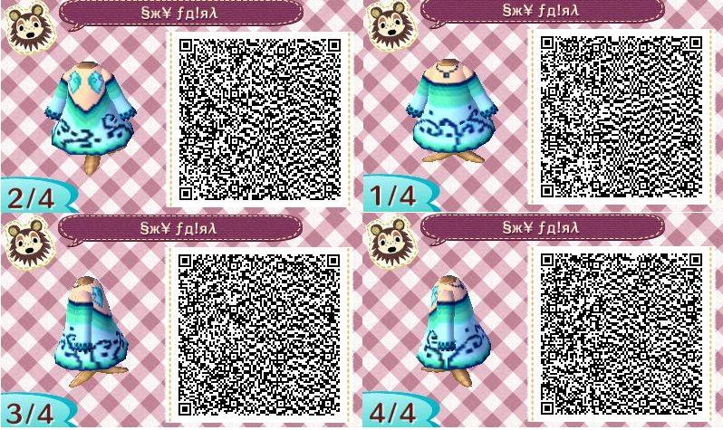 Cute Animal Crossing New Leaf Qr Codes Link New Leaf Pinterest