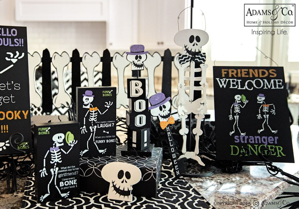 Mr Funny Bones Collection - Halloween decorations, skeleton, skull - halloween decorations skeletons