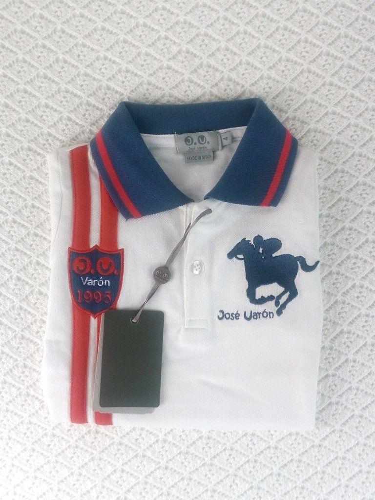 Polo De Nino Jose Varon Talla 4 Anos En 2020 Con Imagenes Marcas De Ropa Infantil Polos Ninos Polos