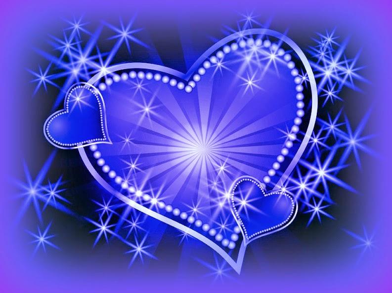 Bellas Imagenes De Corazones Azul Con Amarillo Poemas Y Corazones Artwork Calm Artwork Neon