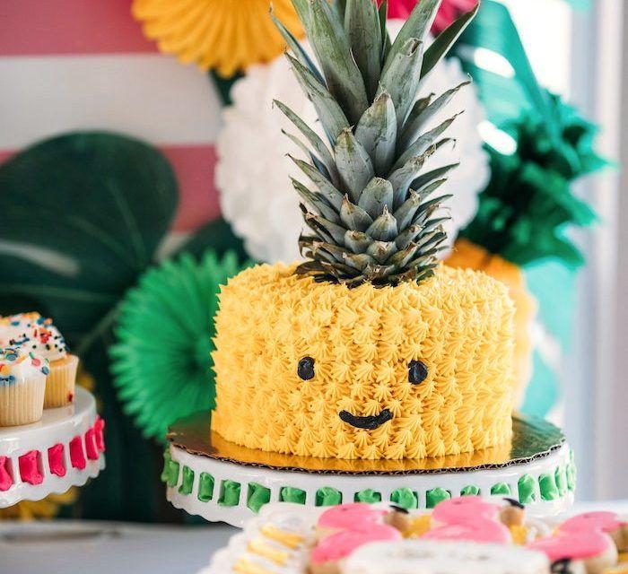 Fiesta temática de piña para niños: ¡ideas originales de decoración ...