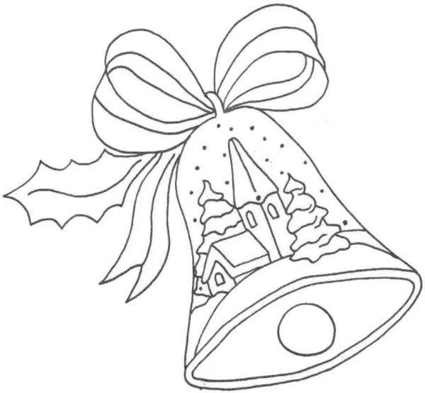 Images Of Coloring Pages Of Bells Google Search Malvorlagen Weihnachtsmalvorlagen Weihnachtsglocke