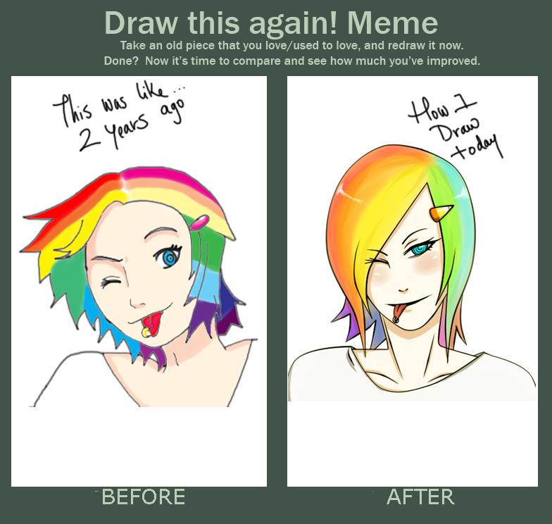 Draw This Again Meme Book Art Drawing Challenge Artist Memes