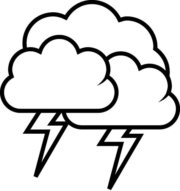 gratis afbeelding op pixabay onweer wolk regen storm donder