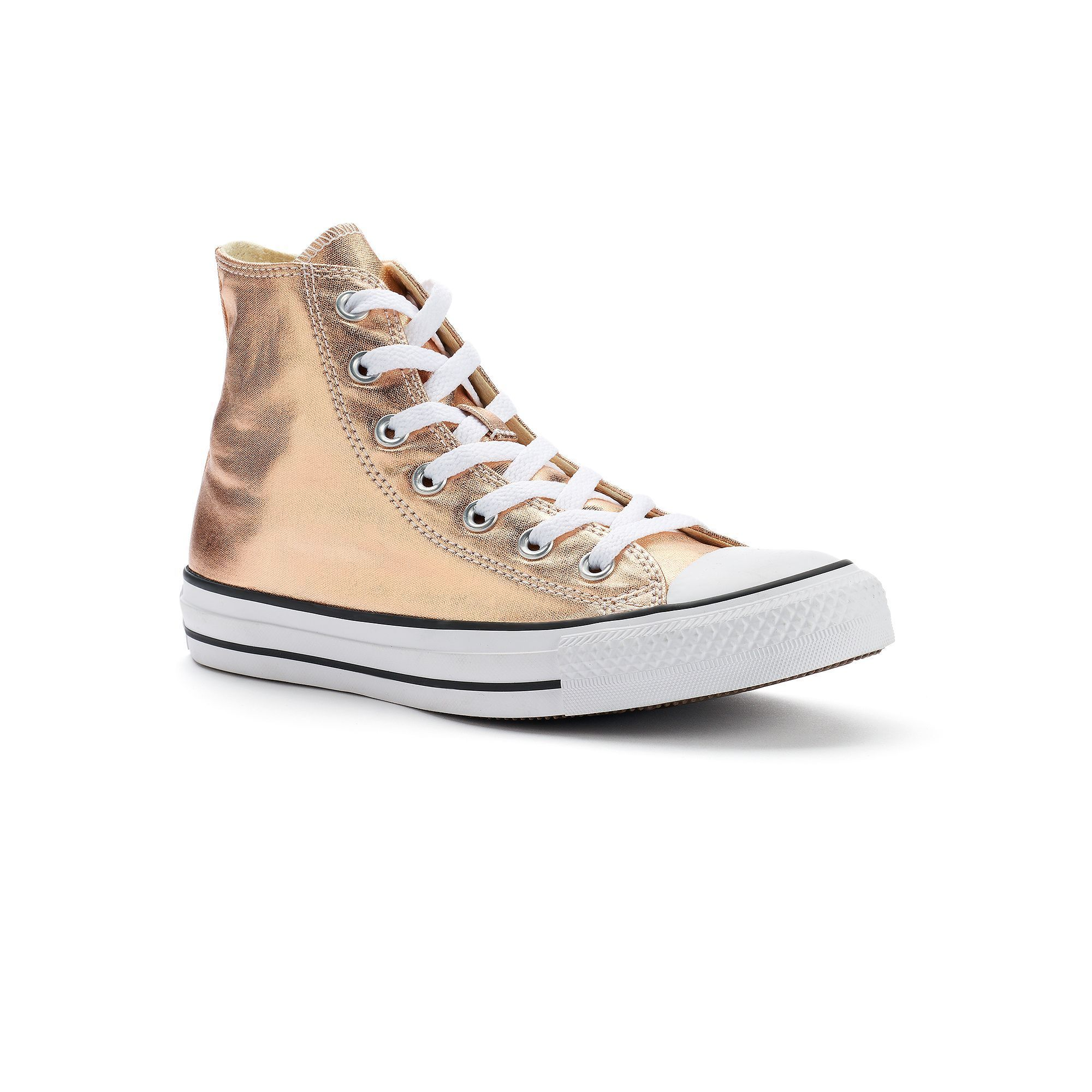 c50bcf2c5f1065 Adult Converse Chuck Taylor All Star Metallic High-Top Sneakers ...