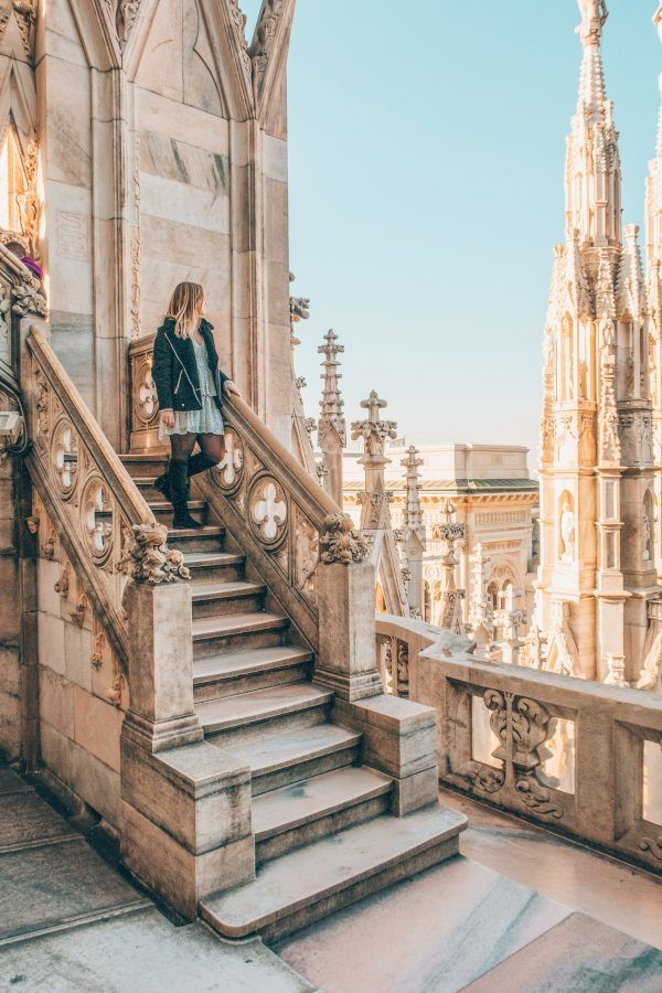 Inspiração de foto para fazer em Milão, Itália: Duomo di Milano.   Duomo di Milan, 48 HOURS IN MILAN, Italy, Milano, Europe, Travel
