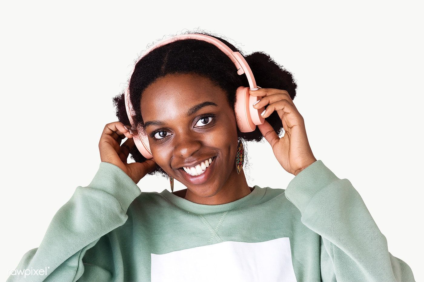 Beautiful Black Woman In A Satin Top Mockup Premium Image By Rawpixel Com Mckinsey Beautiful Black Women Black Women Satin Top