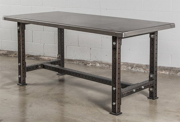 Rogue Supply Workbenches Look Incredibly Heavy Duty Steel Workbench Metal Work Table Metal Work Bench