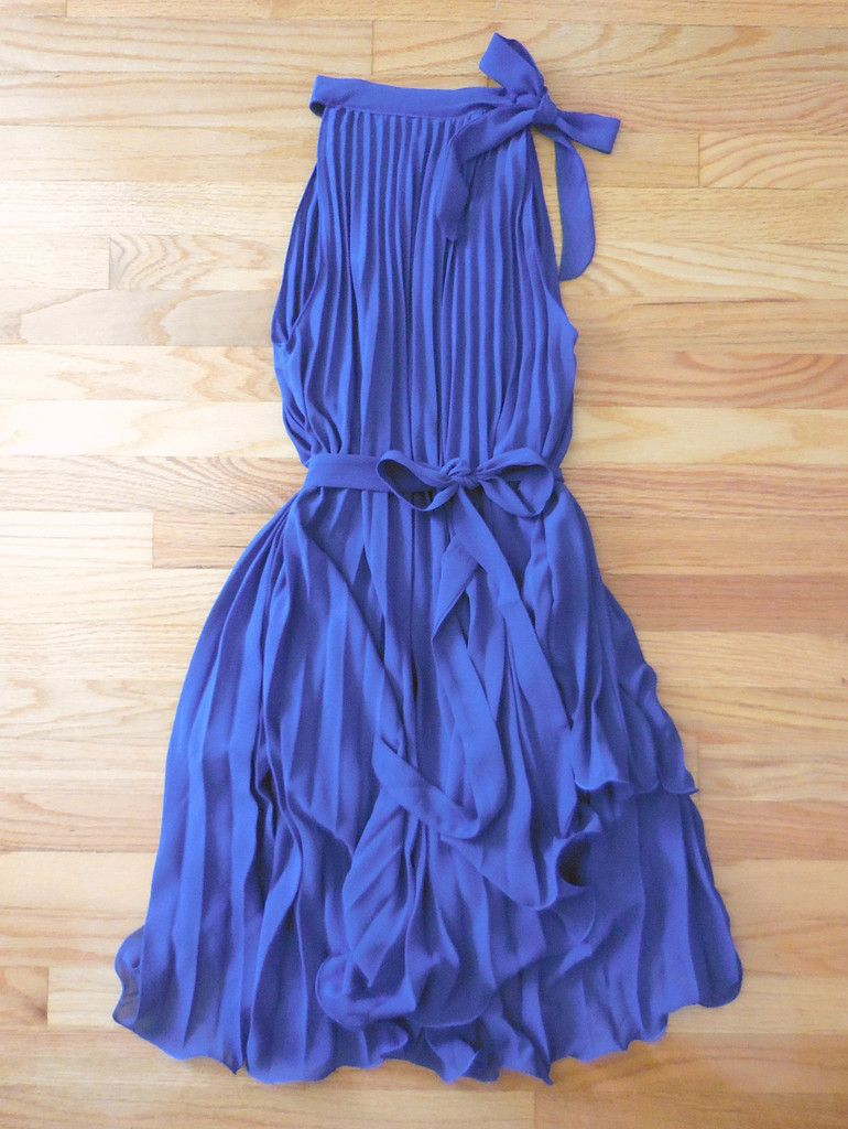 Charming pleated party dress in blue my pinterest closet
