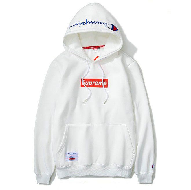 5acbe08351e5 Supreme X Champion Logo Hooded parker 5color