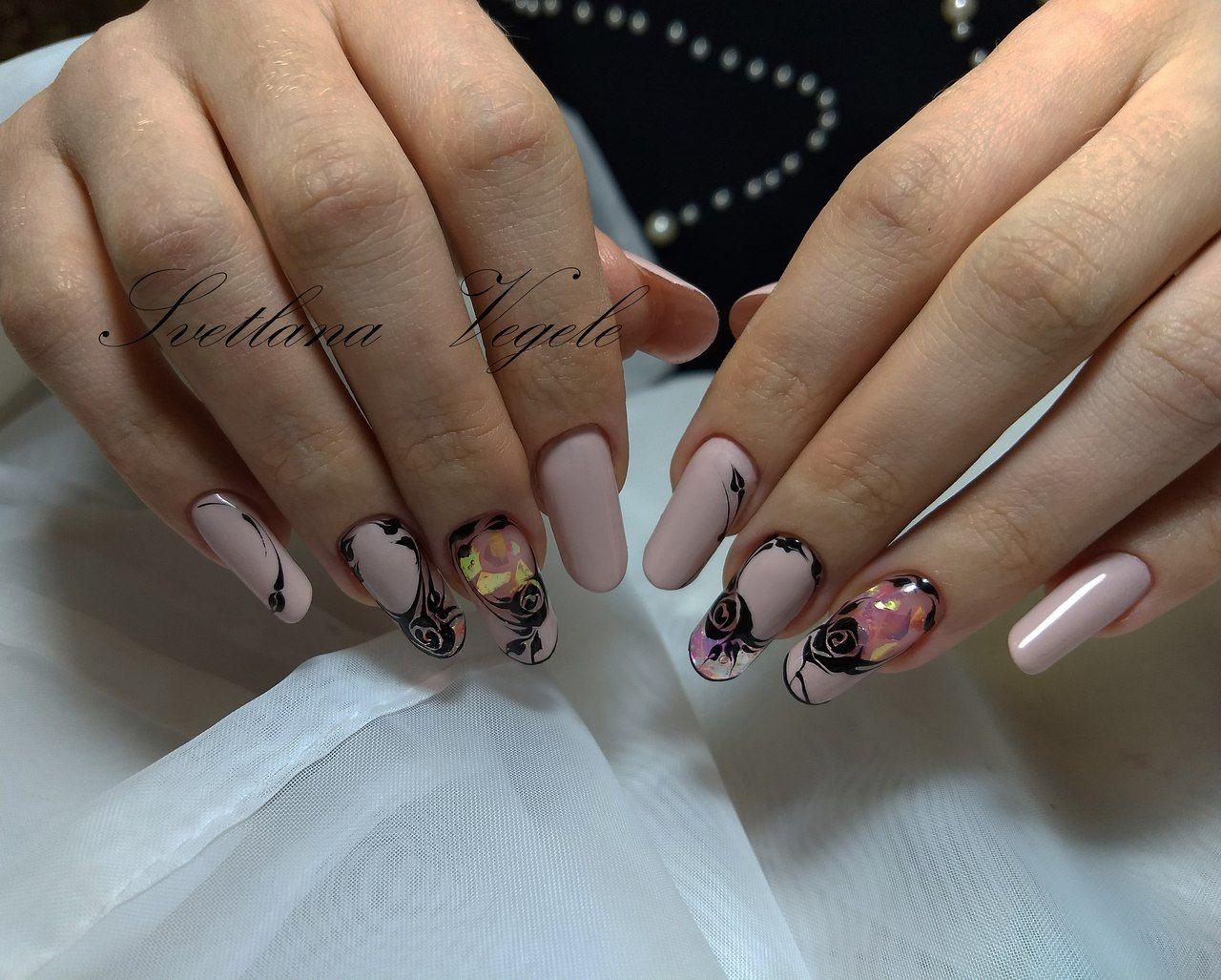 светлана вегель фото ногтей инстаграмм варианты