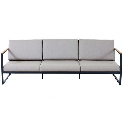 Sofa Garden Easy 3 Places Gris De Roshults Sofás Ymuebles