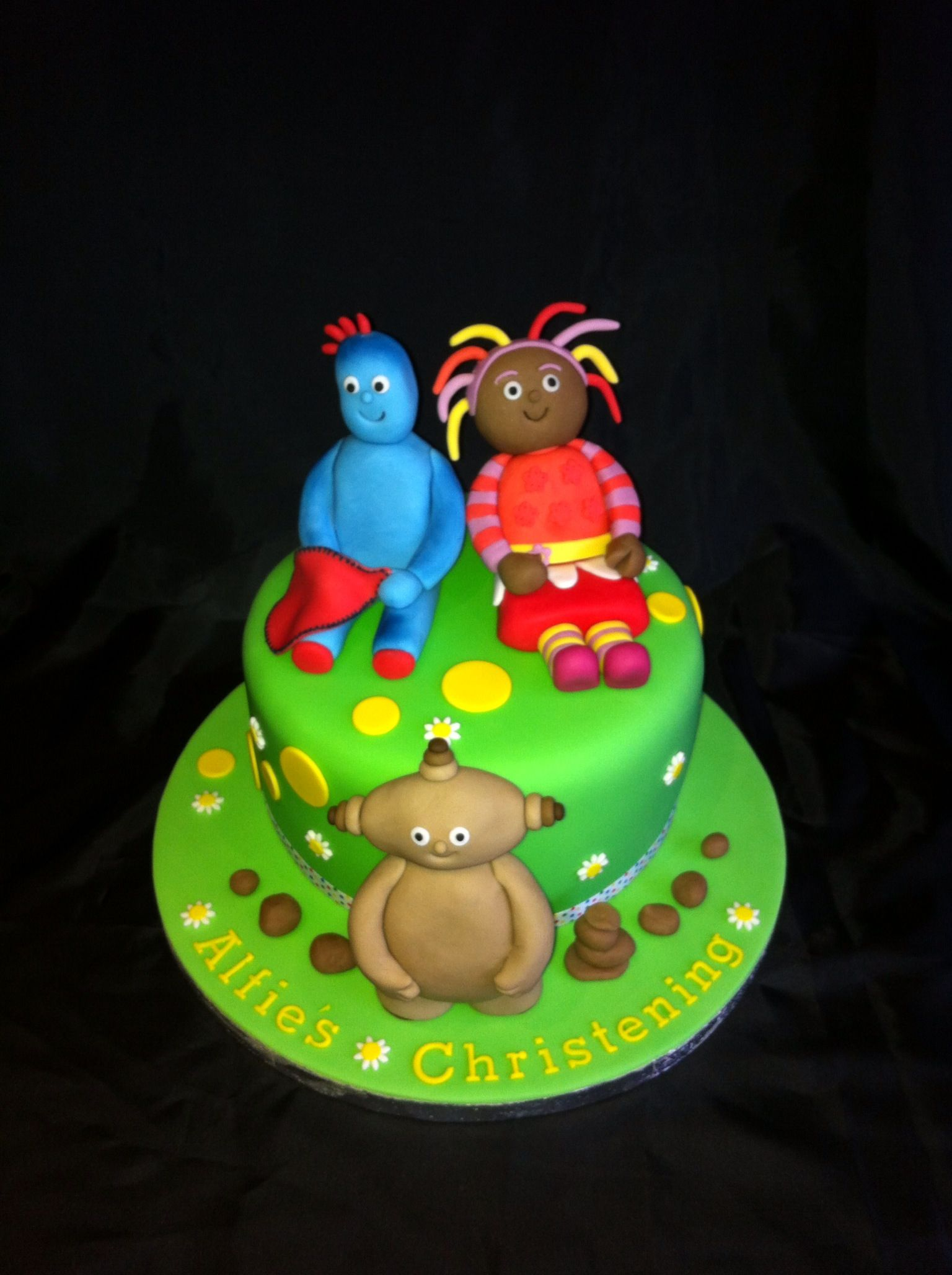 In the night garden christening cake with iggle piggle upsy daisy ...