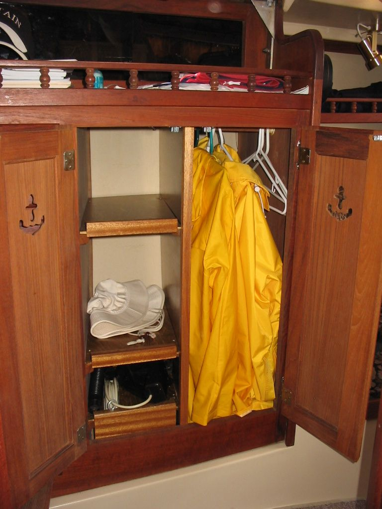 Adding Storage To A Catalina 30 Boat Interior Sailboat Interior Yacht Interior Design