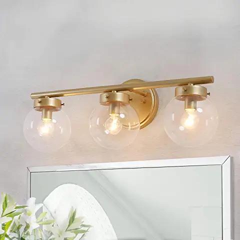 Amazon.com: brass light fixture bathroom - 2 or 3 in 2020 ...