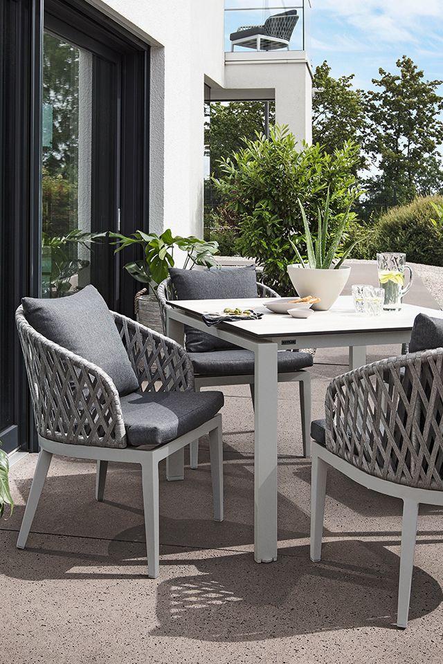 Der Name Ist Hier Programm Der Dining Sessel Sunny Von Kettler Macht Gute Laune Gartenmobel Haus Deko Dekor