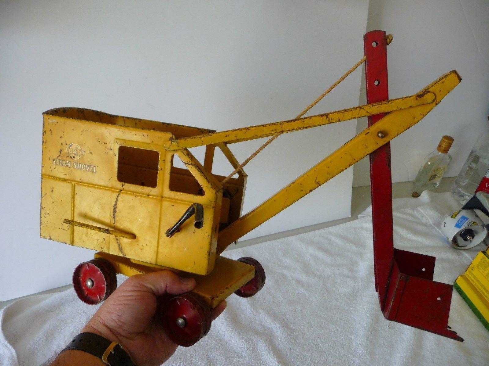 Images of vintage toys  toys vintagetoys Vintage Buddy L  Pressed Steel Steam Shovel