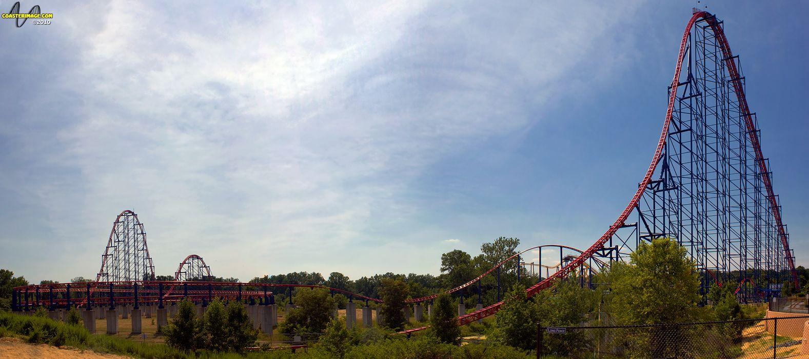 Superman Ride Of Steel Six Flags Amusement Park Rides Orlando Theme Parks Darien Lake