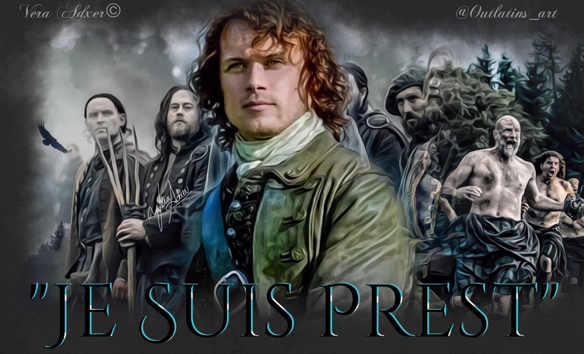 """Outlander season 2 Jamie Fraser """"Je Suis Prest"""""""