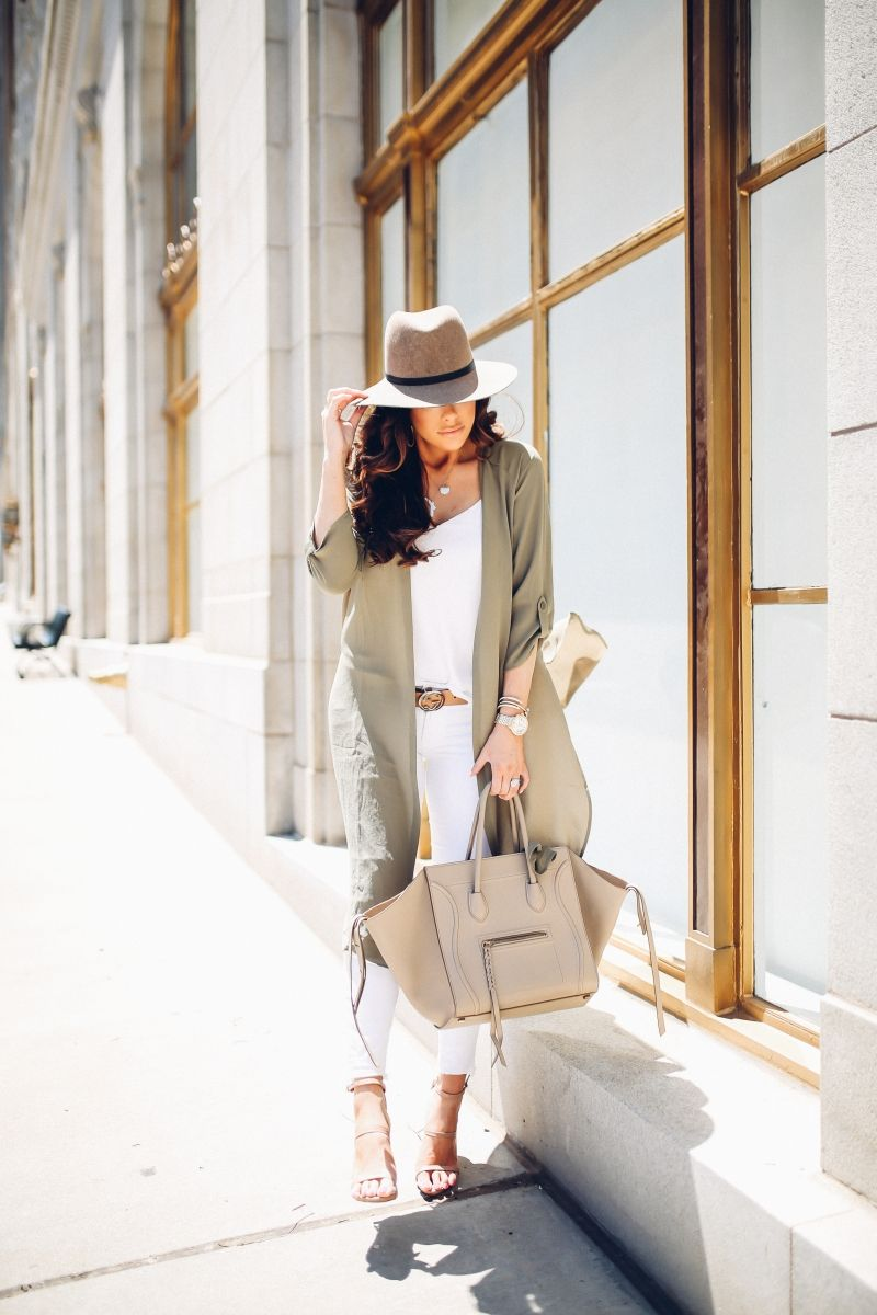 Olive Green On The Go | The Sweetest Thing