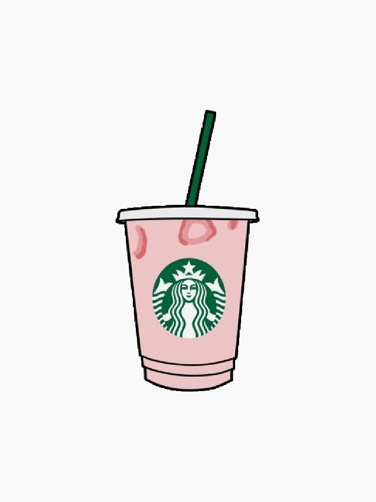 Starbucks Pink Drink Stickers By Gabbyrani Redbubble