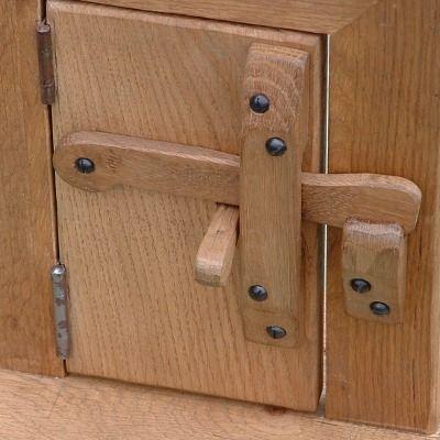 Stokesay Oak Wooden Thumb Latch