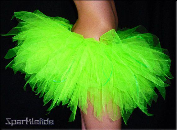59cf2339a44 UV Neon Green Tutu By Sparklefide.com