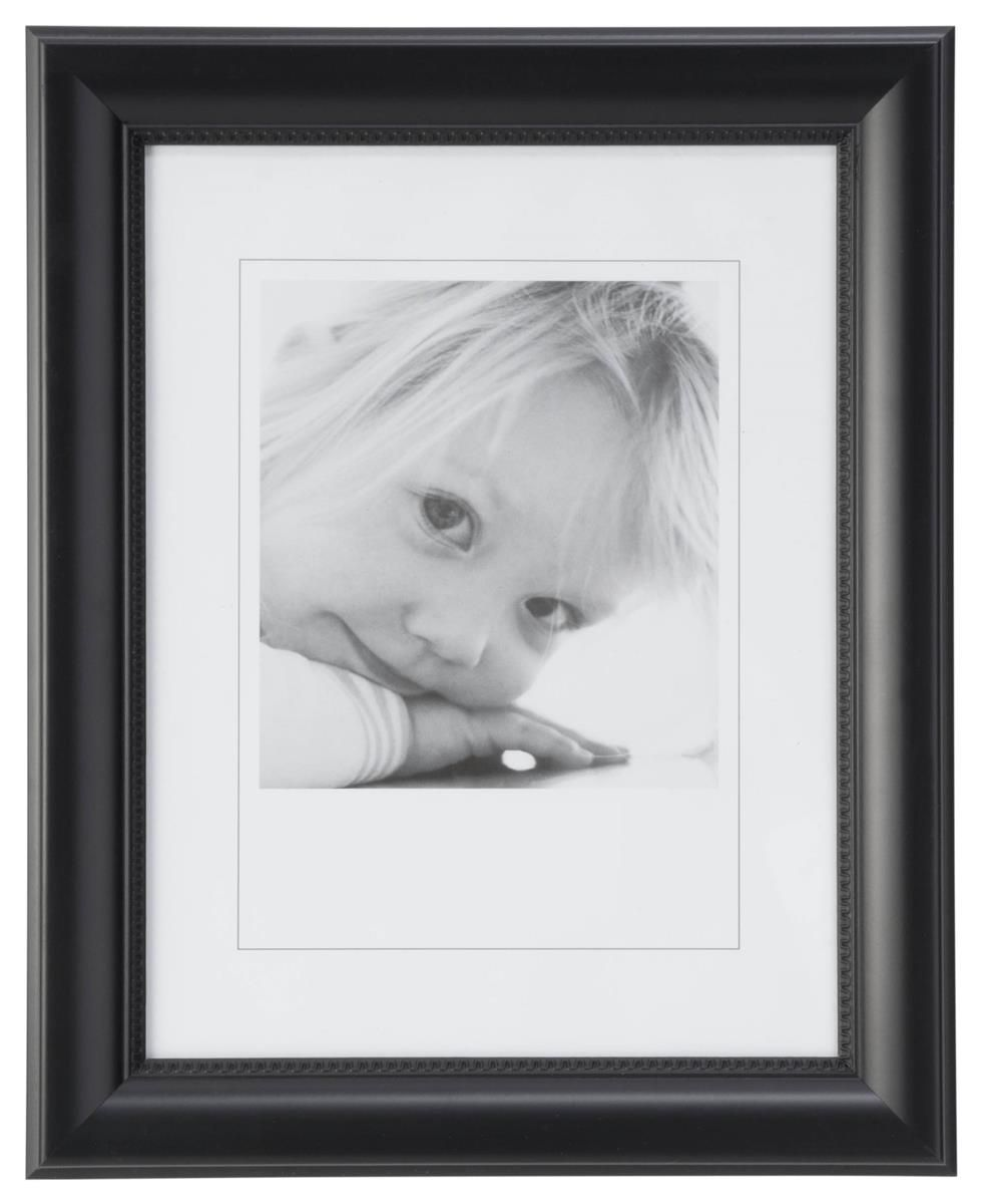 Black 85 X 11 Frame In Portrait Orientation On Wall Ward