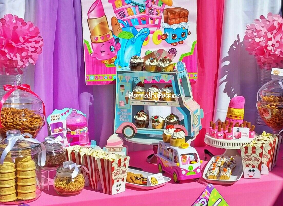 Patrice Js Birthday Shopkins Ice Cream Social