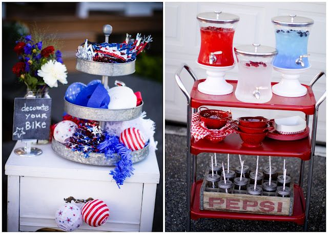 Delightful Fourth Of July Decorations | 4th Of July Party {Bike Parade Decorating}