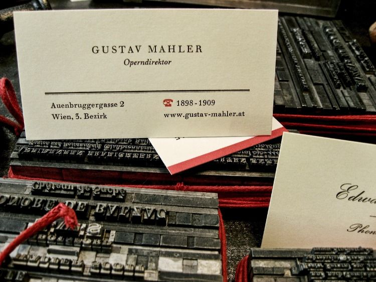 Man Bemerke Die Besondere Telefonnummer Businesscards
