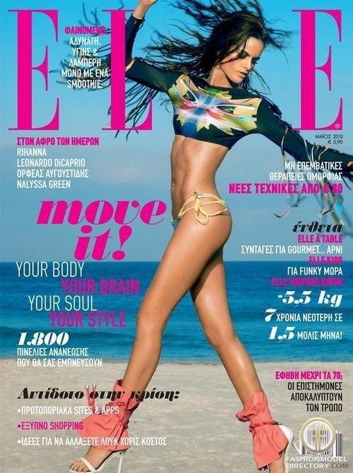 Izabel Goulart - Elle Magazine Cover [Greece] (May 2013)