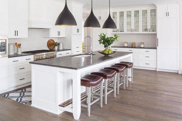 Download Wallpaper Black And White Kitchen Pendant Lights