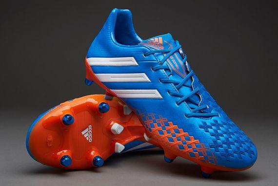 Adidas Predator Lz Xtrx Sg Fussballschuhe Blau Weiss Orange
