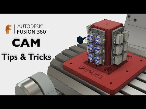 Fusion 360: CAM Tips & Tricks - YouTube | Autodesk Fusion
