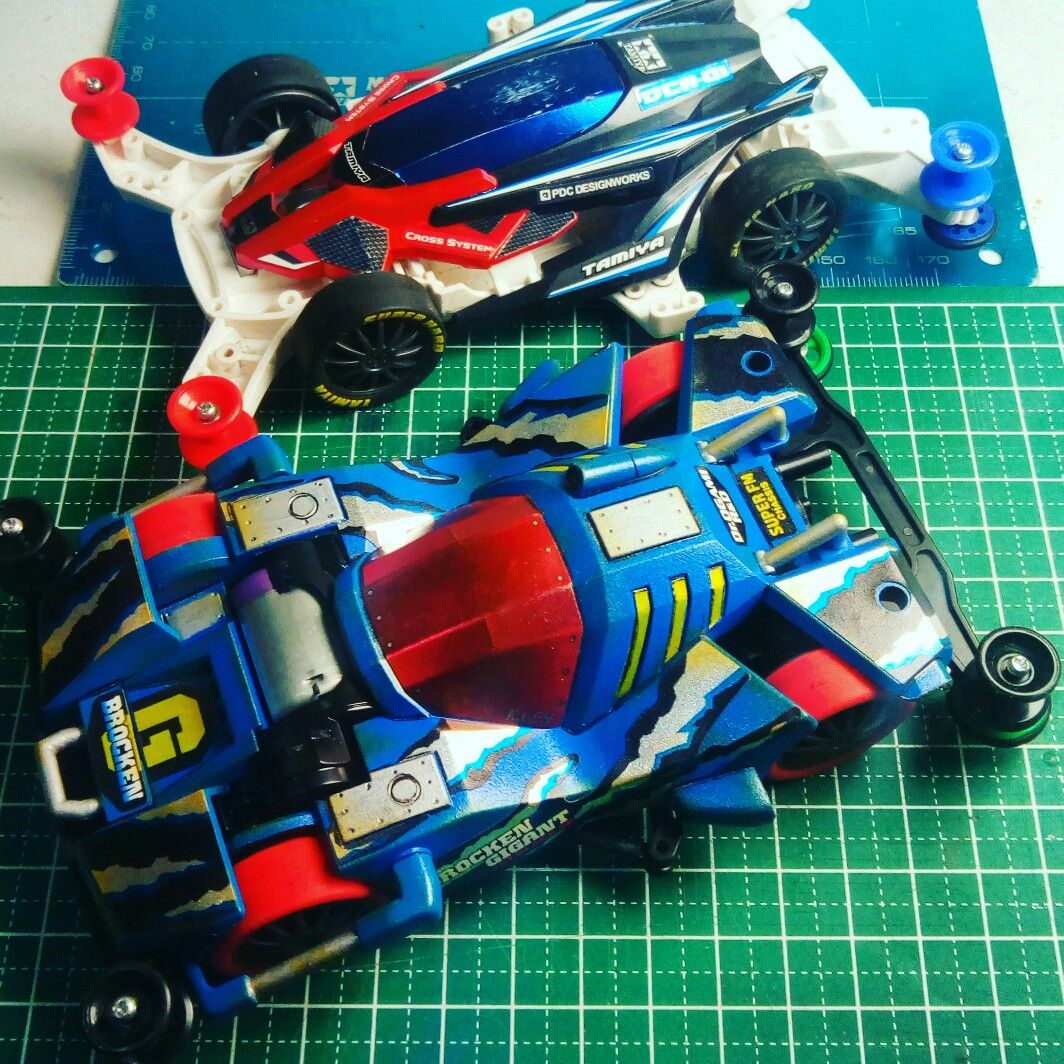 MA and FM for stock race Mini 4wd, 4wd, Tamiya