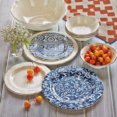 Tag Veranda Melamine Dinner Plates - Set of 4 - TAG205774 & Tag Veranda Melamine Dinner Plates - Set of 4 - TAG205774 | Dinner ...