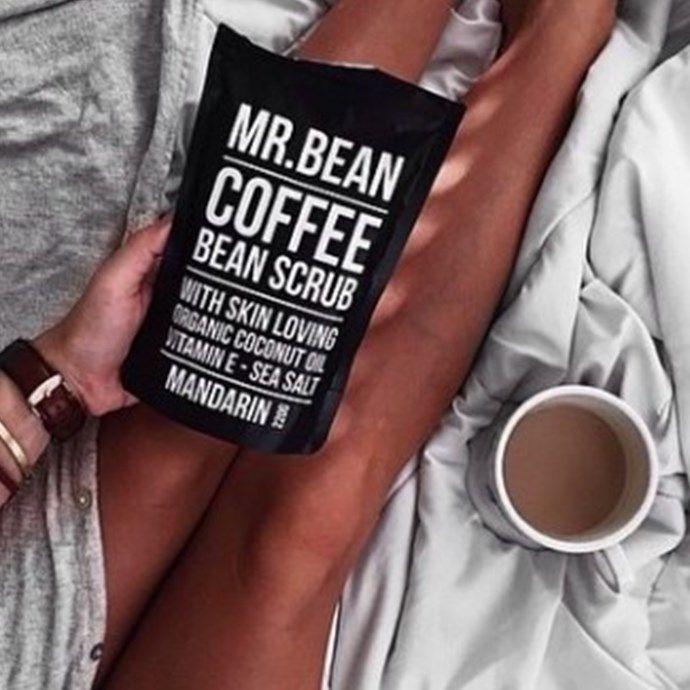 Mr. Bean Organic Coffee Bean Scrub