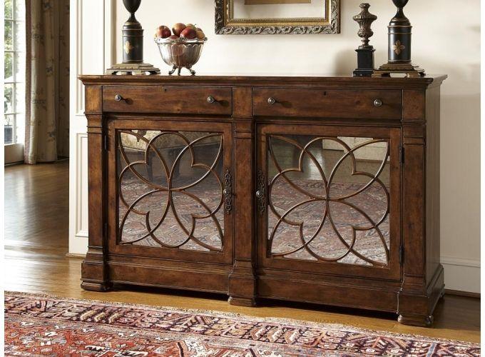 Fine Furniture (FFDM)Biltmore Double Credenza At Doerr Furniture Store