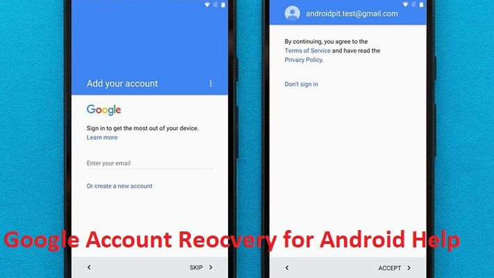 how to sign out my google account in android