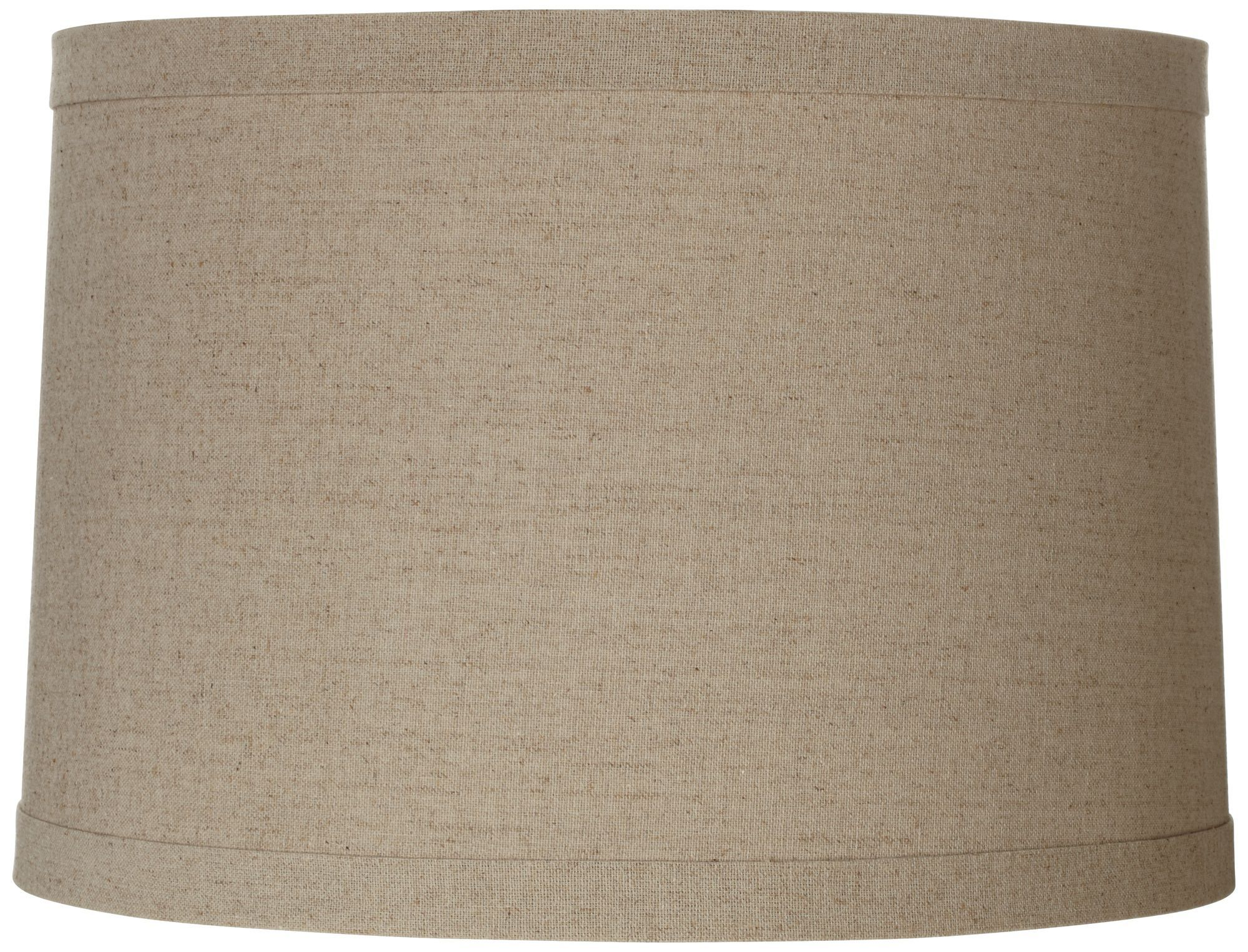 Springcrest Natural Linen 11-Inches-H Taupe Lamp Shade ...