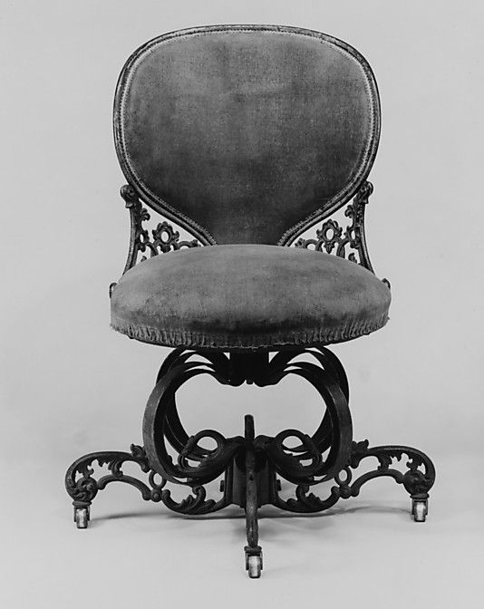 Side Chair Designed By Thomas E Warren Manufacturer Manufactured