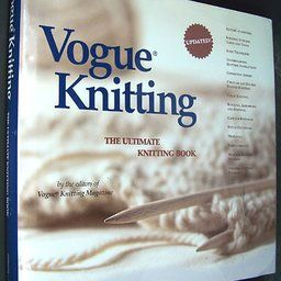 Thought vogue knitting book think